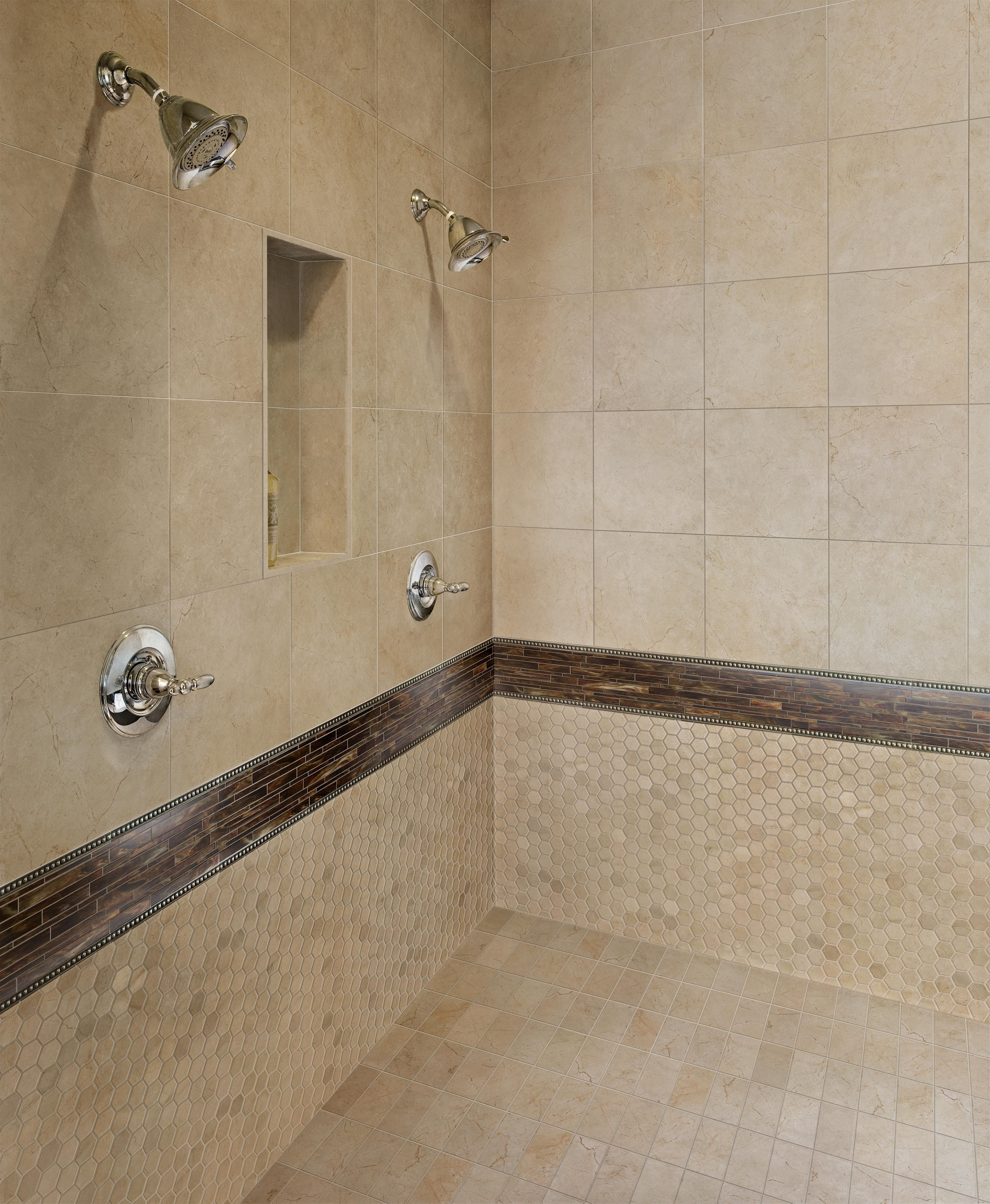 new bathroom images%0A Classic beauty never goes out of style  and Marazzi u    s new TIMELESS  COLLECTION provides a fresh