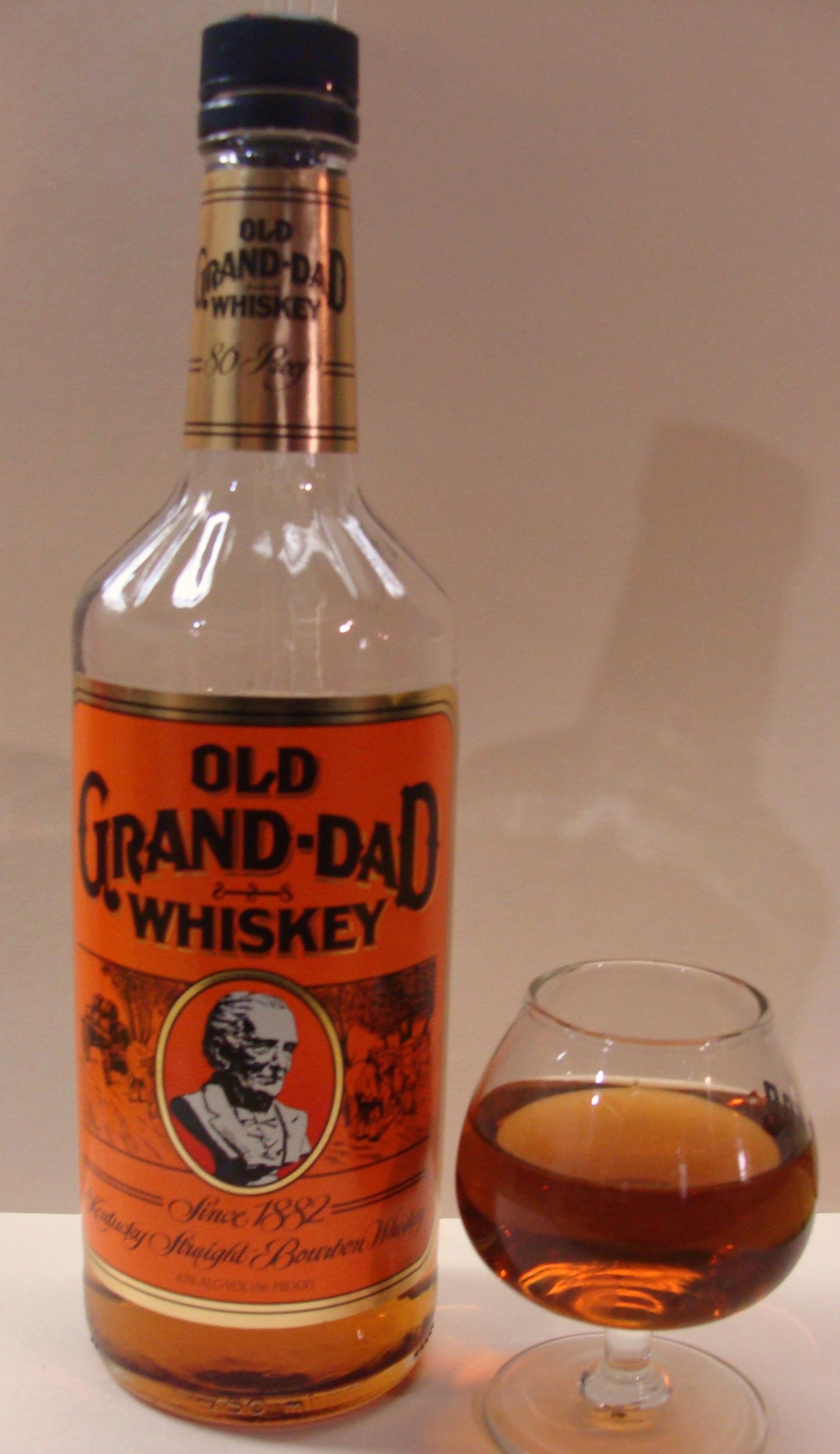 Granddad Whiskey Brands Whiskey Whisky Bottle