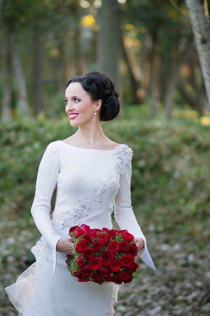 winter wonderland wedding south africa%0A a perfect wedding muff  South African Winter Wedding  Tertius  u     Melissa     Rock n Roll Bride