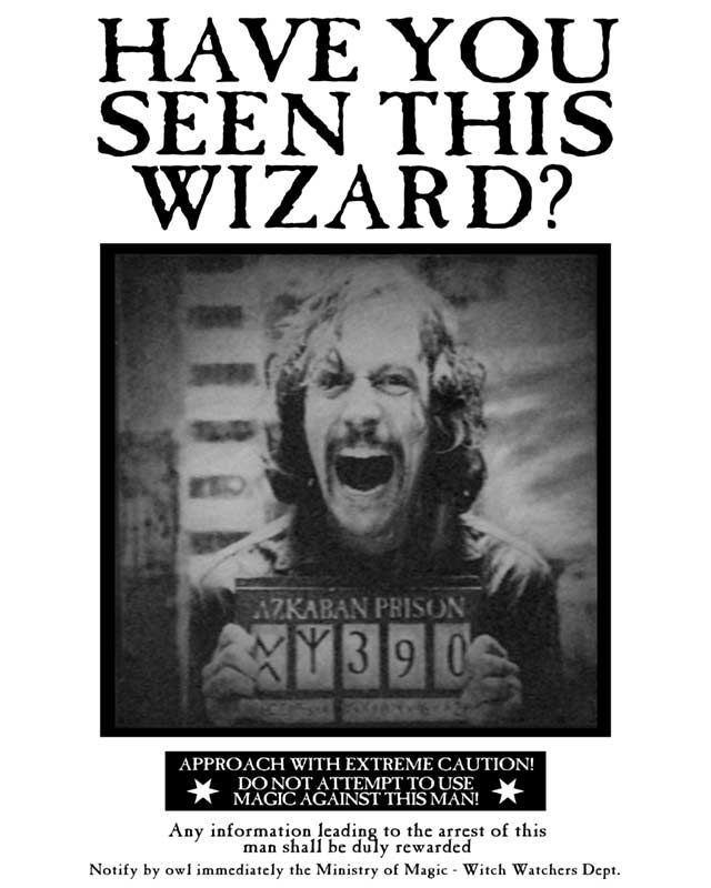 graphic relating to Harry Potter Wanted Poster Printable titled Harry potter wished-for poster - Refreshing flicks coming out in direction of get