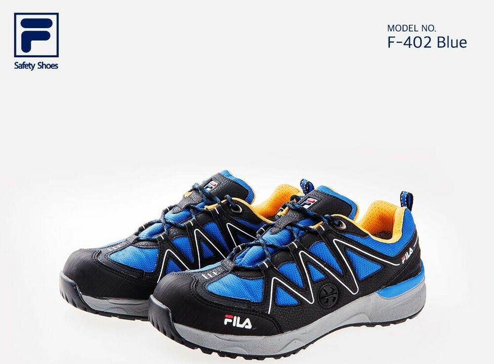 c54daa21 FILA Brand New Safety Shoes Jogger F-402 Blue Work shoes Steel Toe ...