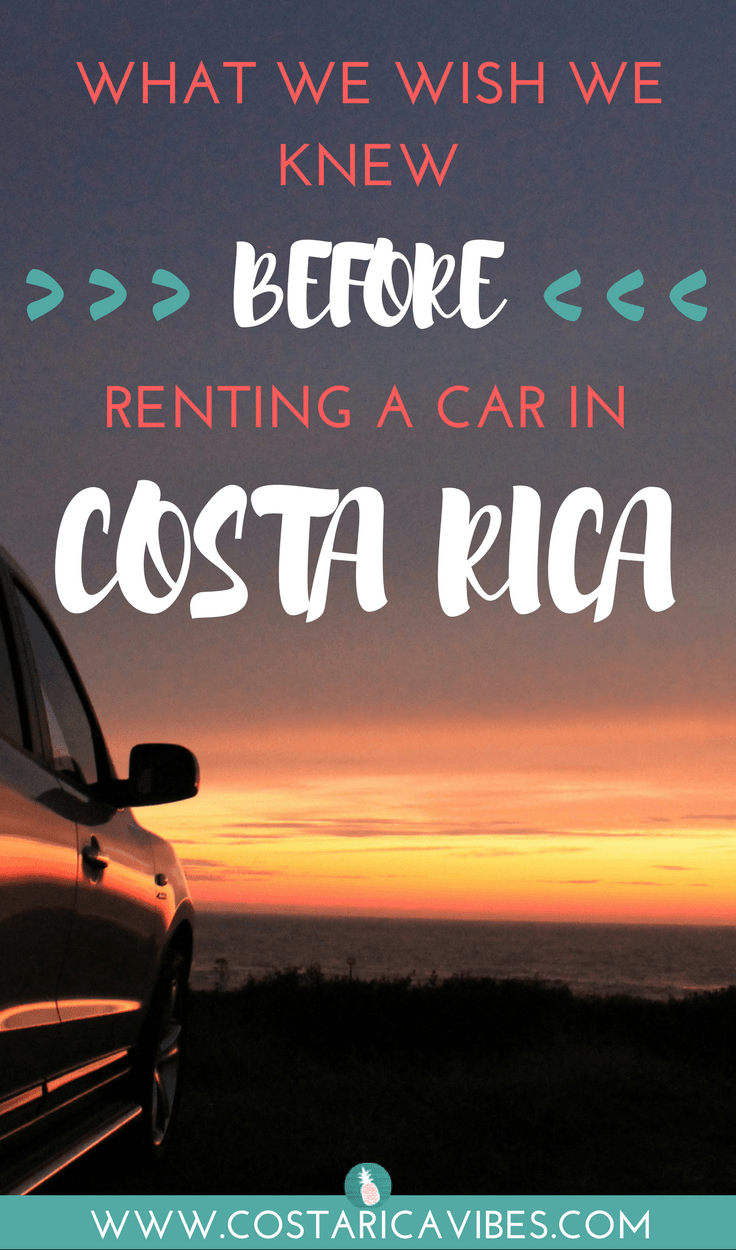 renting a car in costa rica read this first costa rica vibes best rh pinterest com