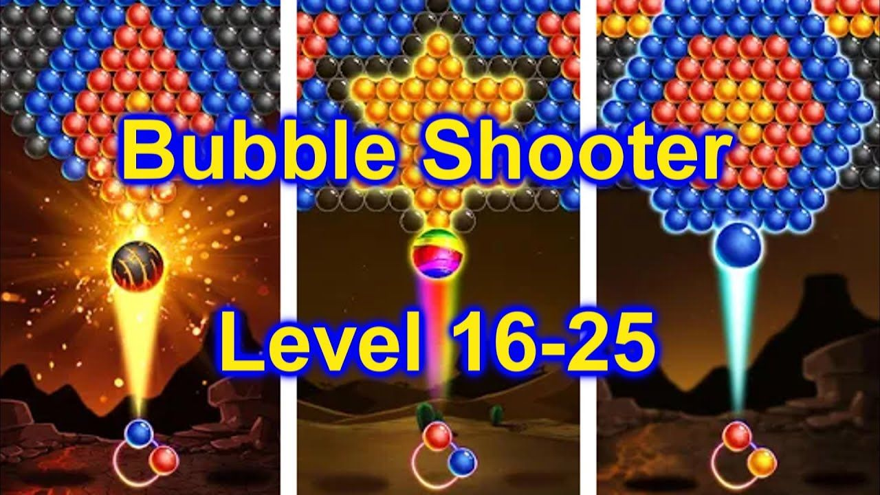 Bubble Shooter Game App Part 3 Level 1625 Play Offline On