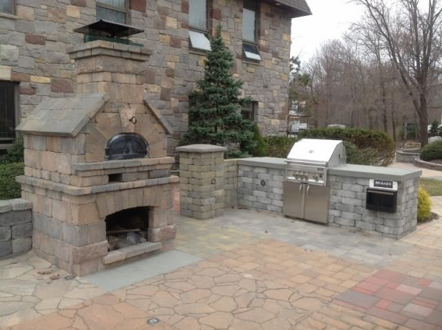 Attirant Stone Or Brick Kitchens | Chicago Brick Oven U0026 Outdoor Kitchen | Meier  Stone Company