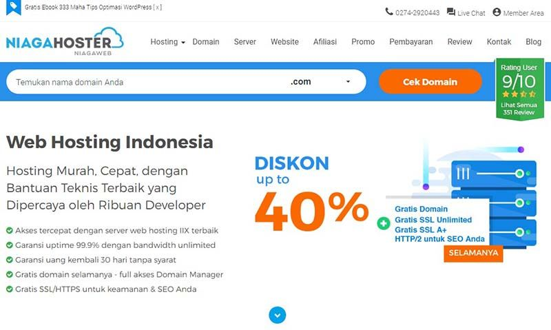20++ Review web hosting indonesia info