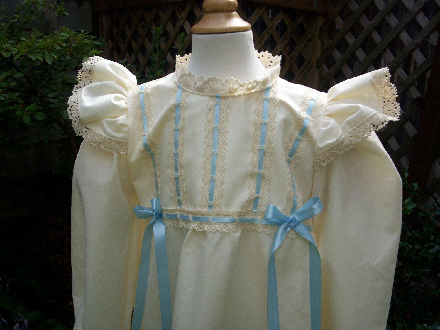 6e7a042eca0 Girls Victorian Nightgown   Made to order sizes 4 to 14.  48.00