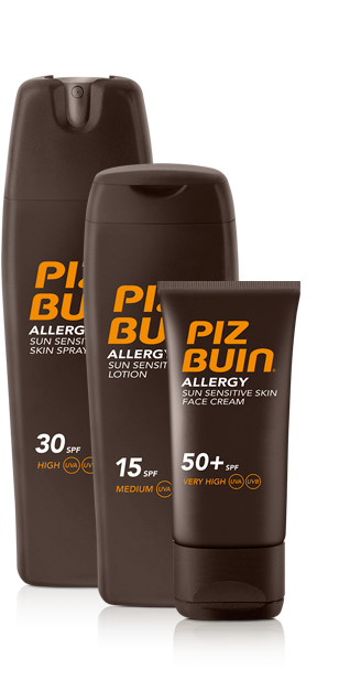 Image result for piz buin allergy range