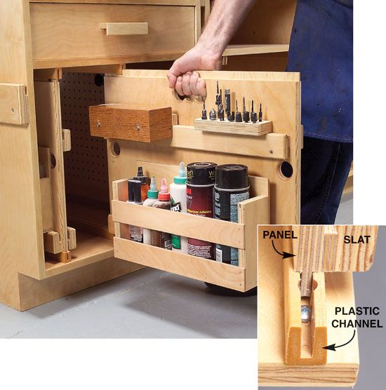 aw extra hyper organize your shop the woodworker 39 s shop american woodworker shop. Black Bedroom Furniture Sets. Home Design Ideas