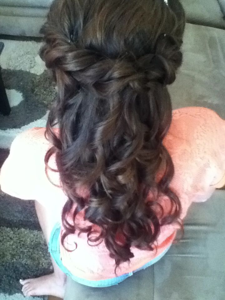 sweet sixteen hairstyle