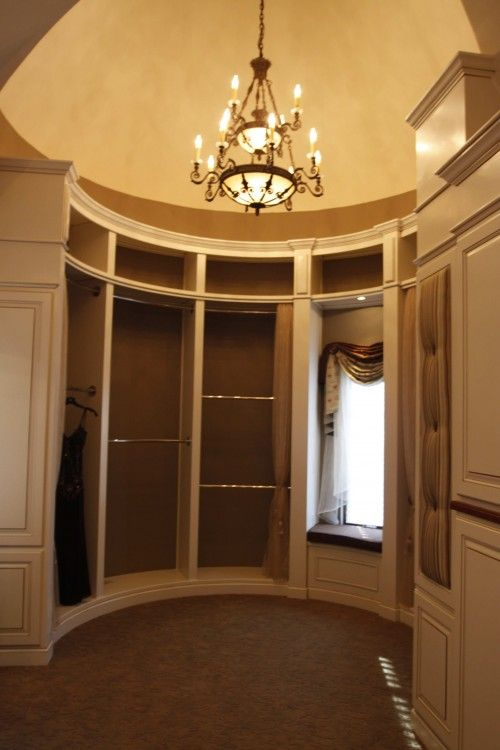 round closet = awesome | Future house :) | Fantasy house ...