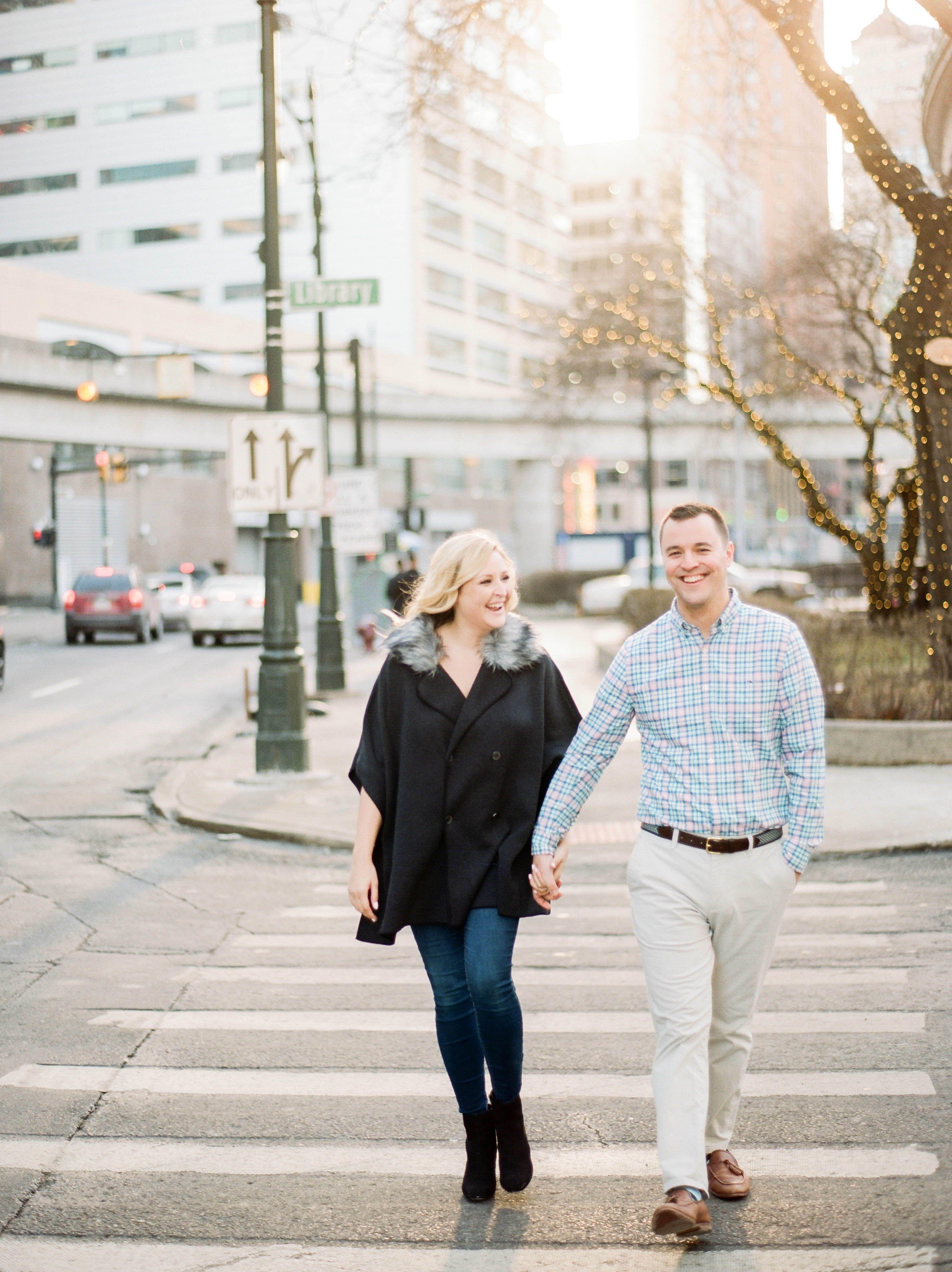 detroit winter engagement a winter engagement session downtown rh pinterest com