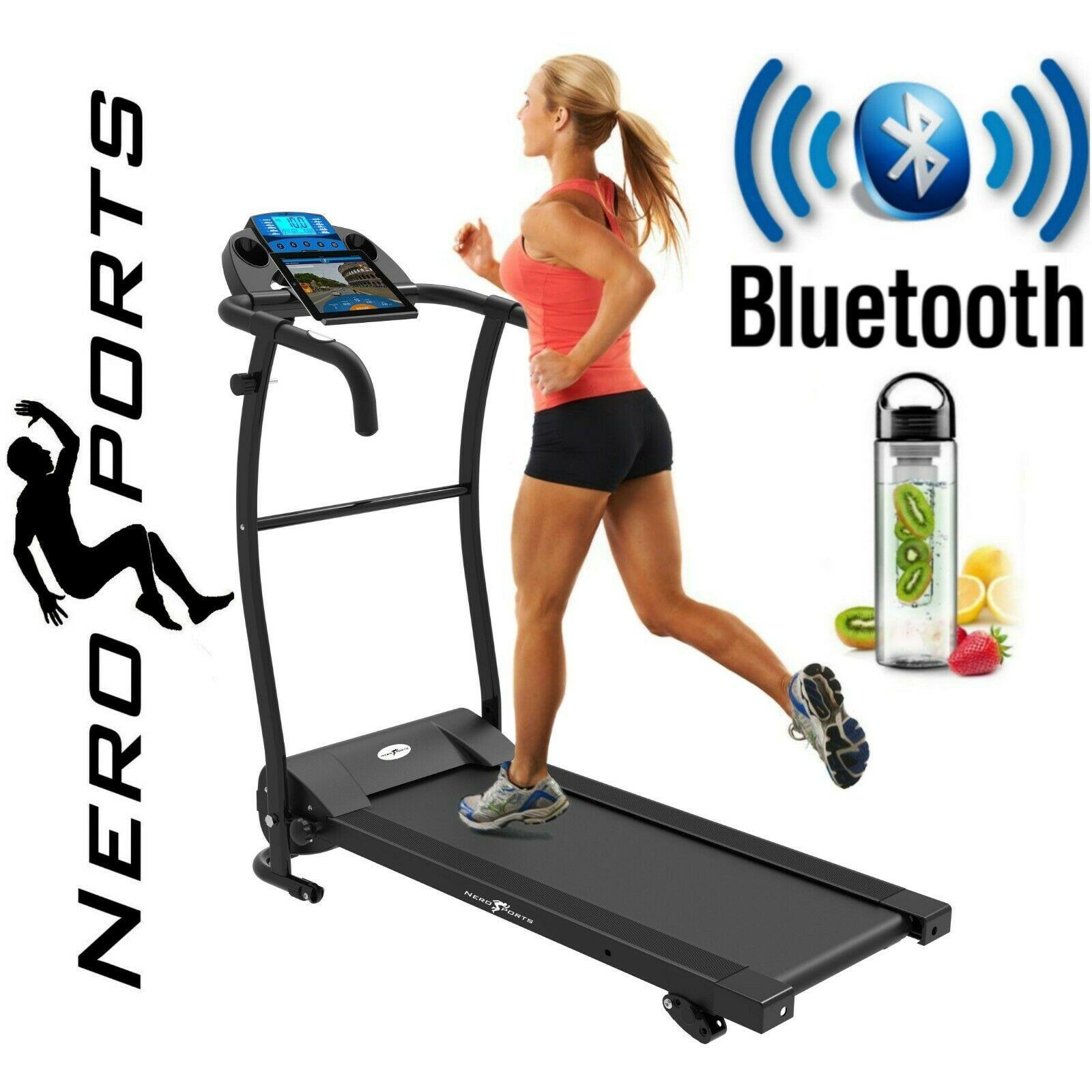 Details Sur Bluetooth Nero Pro Tapis Roulant Electrique Motorise Pliable Running Machine Afficher Le Titre D Origine Tapis Roulant Motorise Bluetooth