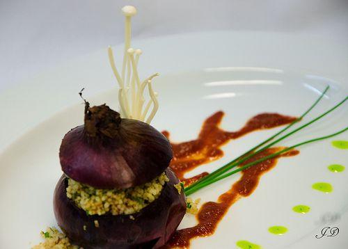 gefüllte #Couscous- #Zwiebel