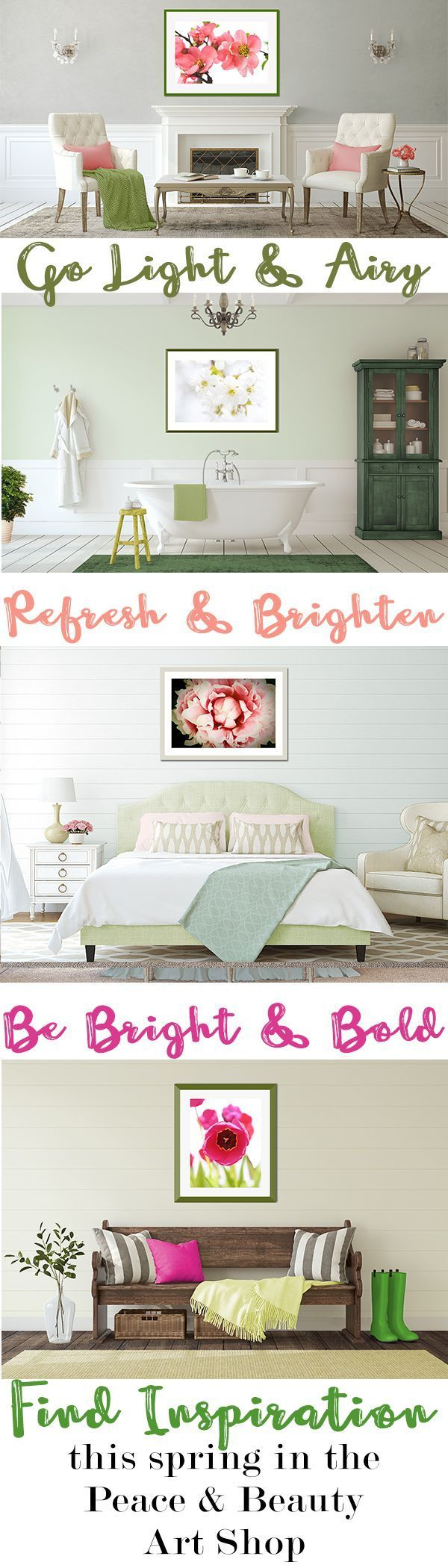 Whether your style is shabby chic cottage