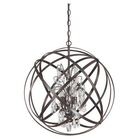 showcasing a crystal chandelier encircled by an industrial inspired rh pinterest com au
