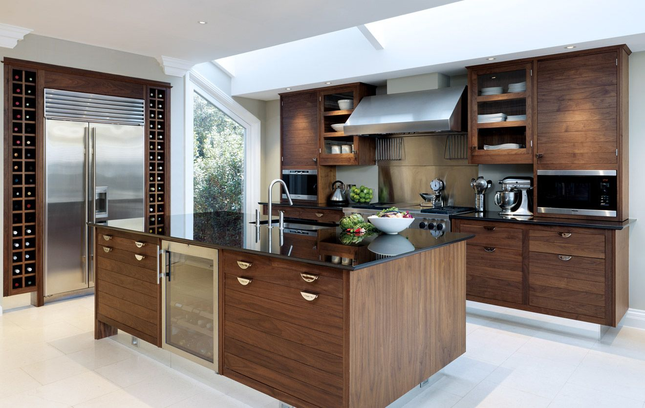 smallbone of devizes walnut silver kitchen collections designs