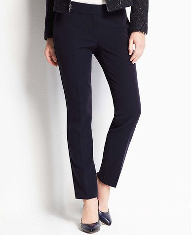 Stretch Twill Ankle Pants