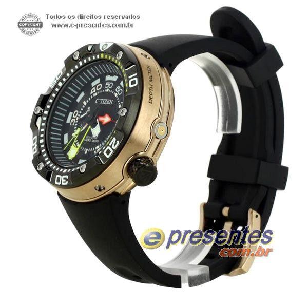 7d202995779 Relógio Citizen Aqualand Eco-drive bn2025-02e Serie Ouro -Edição Limitda  Faça sua encomenda! 12x sem juros!