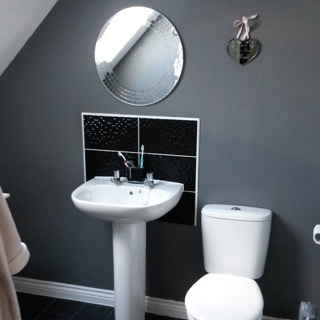 On suite painted 39 urban obsession 39 dulux taylorwimpey for Dulux bathroom ideas