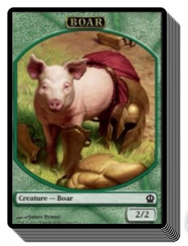 Excellent+ Magic MTG Curse of the Swine ~ Theros