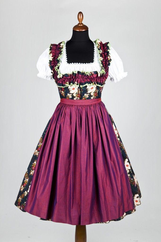dirndl | Lena Hoschek Dirndl | Dirndl im Fifties Style | Dirndl Mode ...