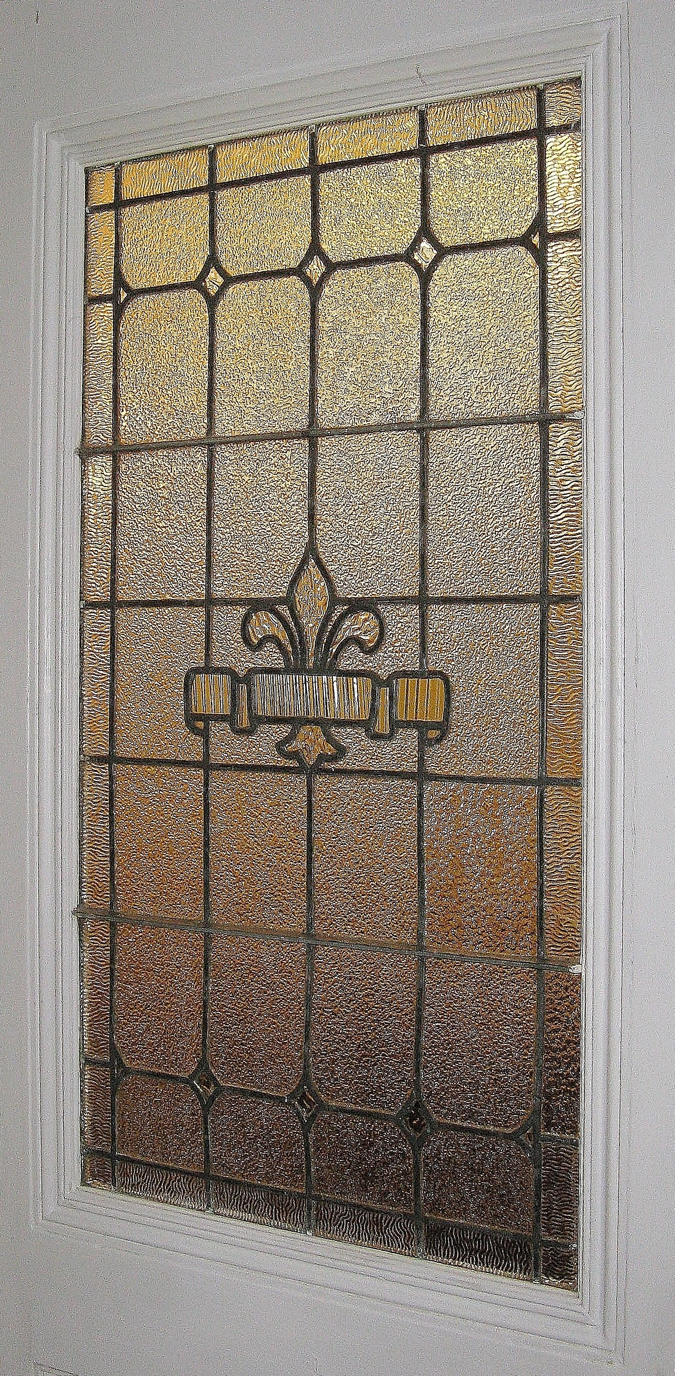 Custom Stained Leaded Glass Designed Furnished And Installed By