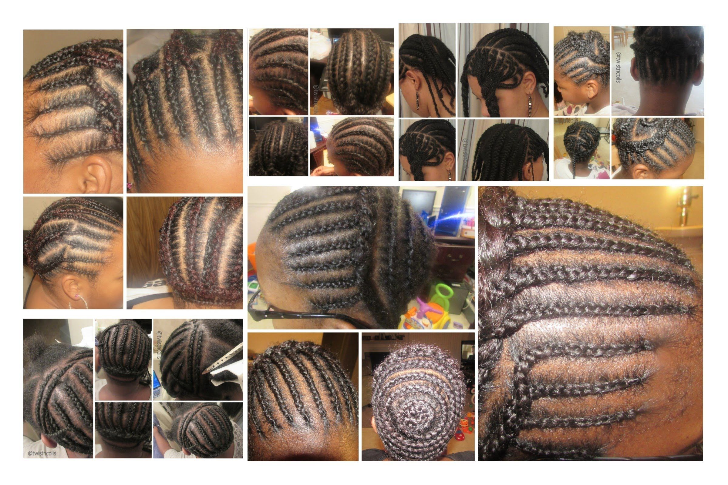Braid Patterns For Different Crochet Styles Hair