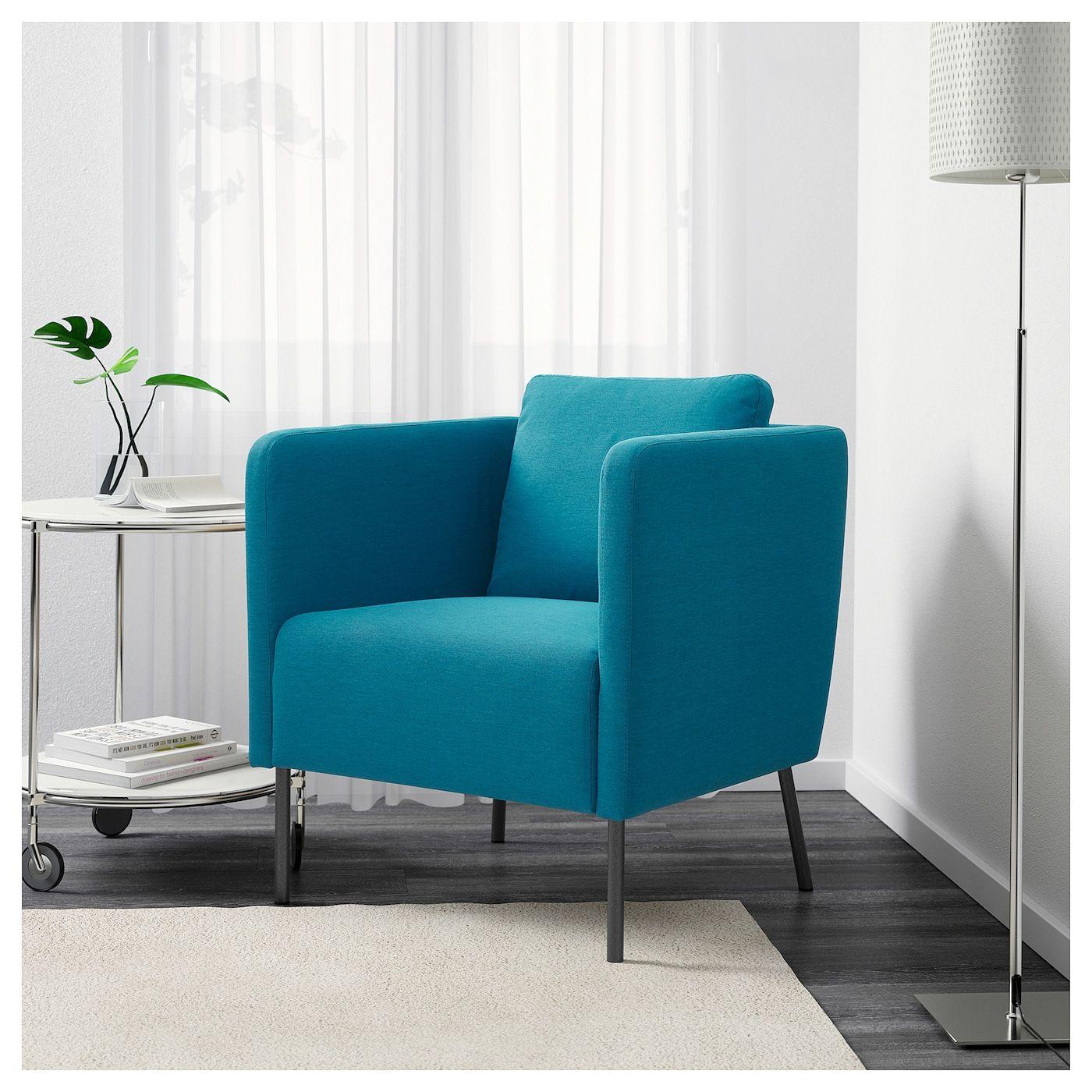 EKERÖ Sessel Knisa türkis IKEA Deutschland Haus deko