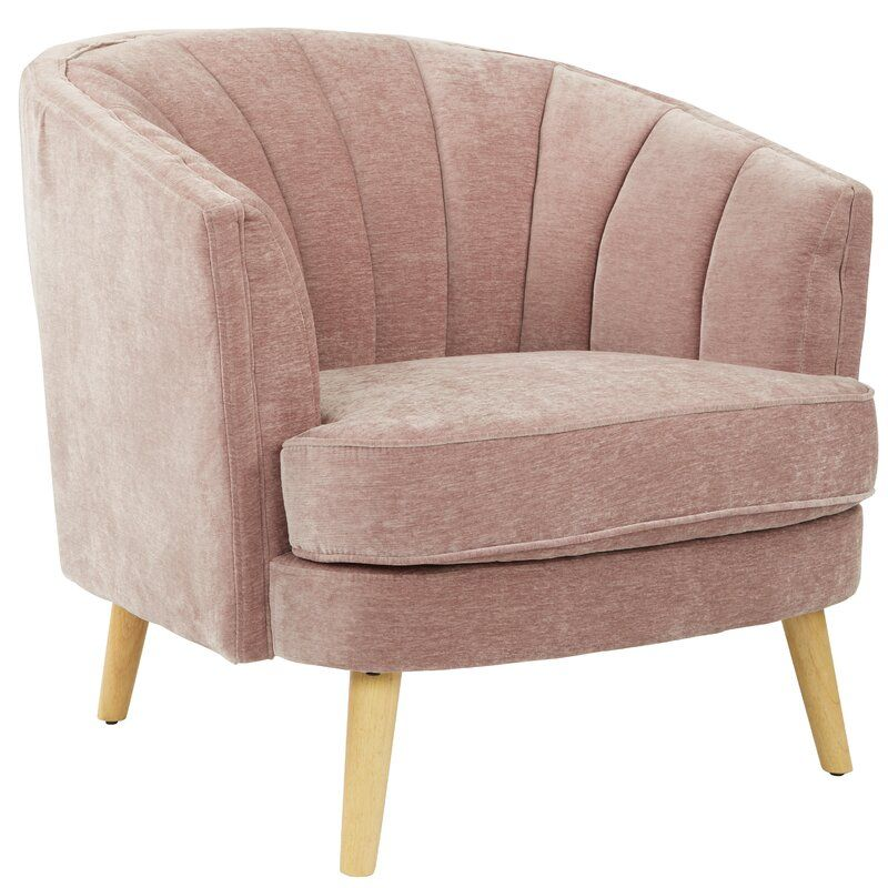 Kate Barrel Chair Accent Chairs Chair Barrel Chair