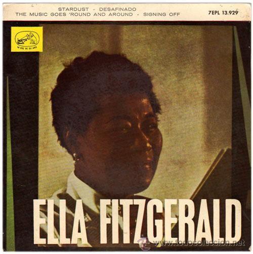 Stardust / Ella Fitzgerald.-- Barcelona : Gramofono-Odeon, 1963. 1GS/M/103