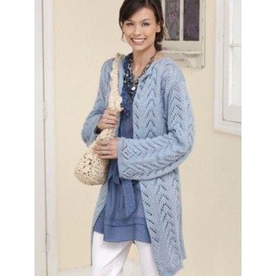 Long Lacy Knit Jacket Patterns Yarnspirations Sweaters