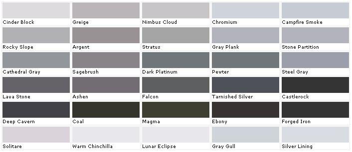 Grey Neutral Colors From Valspar Paint