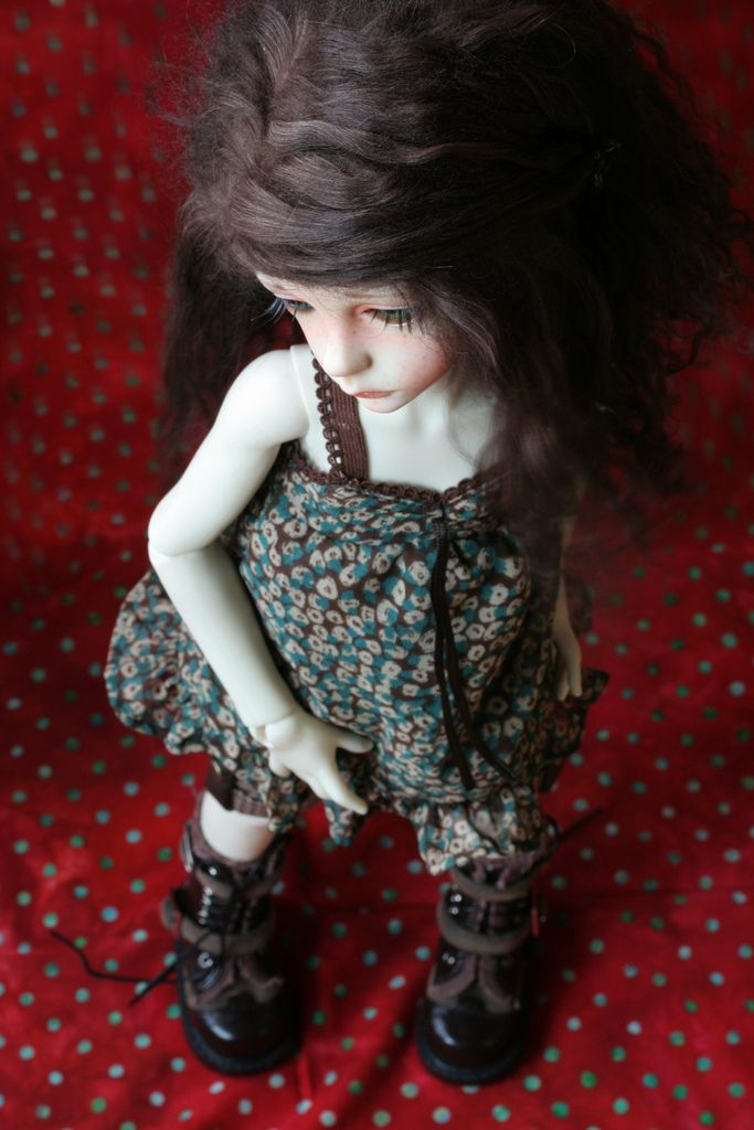 https://flic.kr/p/a3myqZ | Commission makeup pour Danielle | Dollstown Seola@Danielle  Handmade makeup and wig