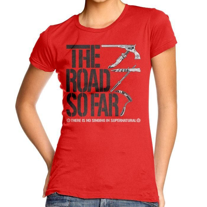 The Road So Far - Women's Fitted T-Shirt