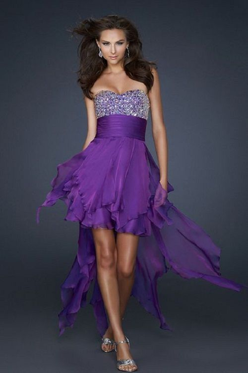 78  images about prom dresses on Pinterest  Short purple prom ...