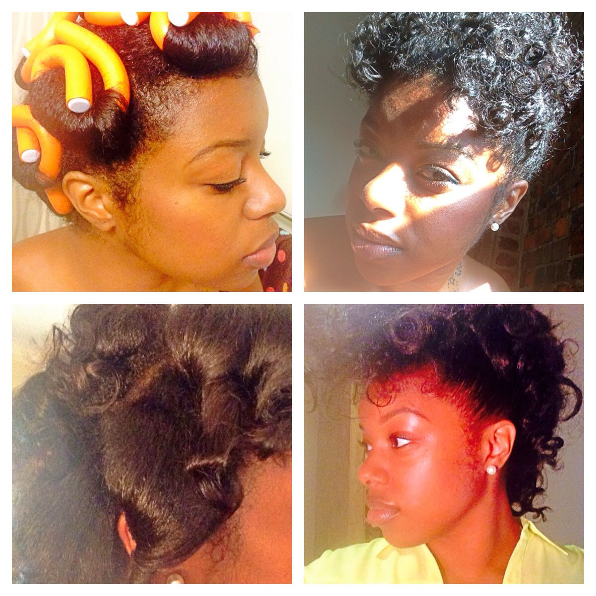Transitioning from relaxed hair to natural is hard for some and easy