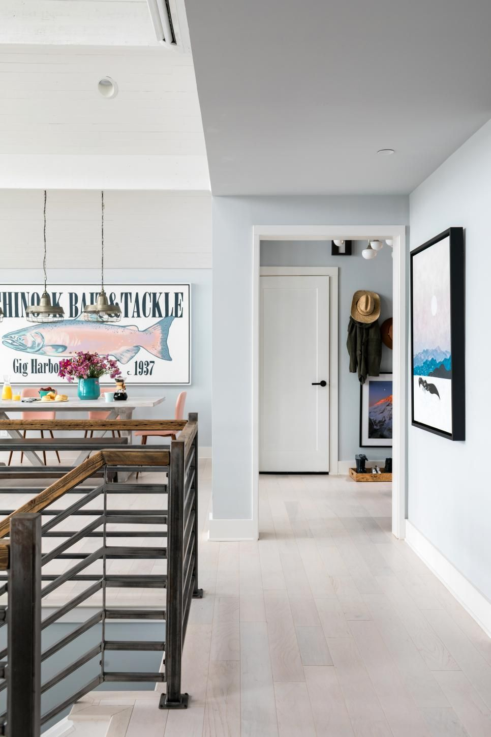this bright and spacious great room at hgtv dream home 2018 feels rh pinterest com