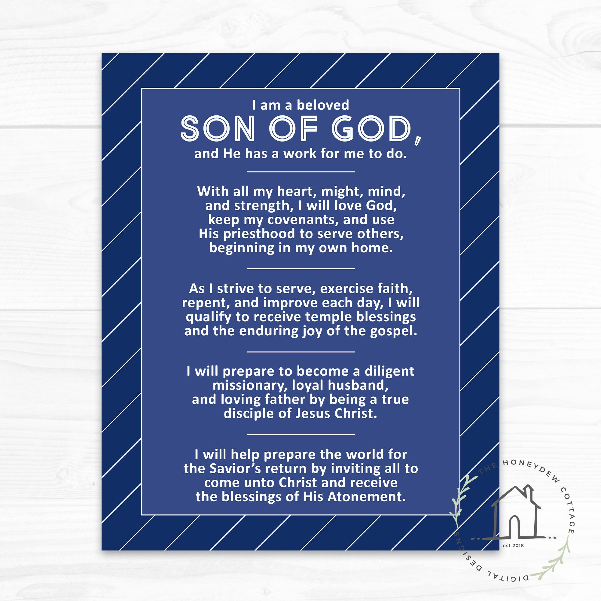 New Young Men Theme For The Church Of Jesus Christ Of Latter Day