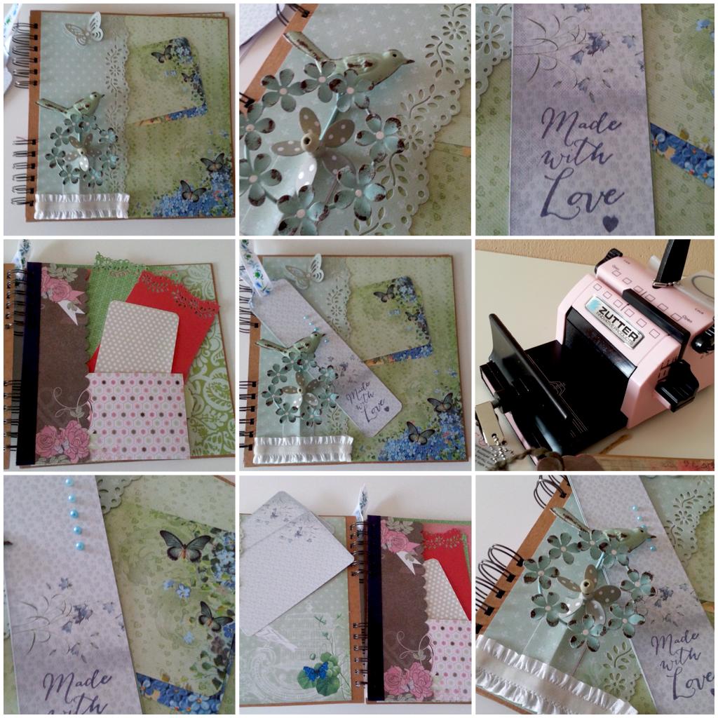 annie scrappt - rund ums Papier und noch viel mehr: Romantisches Fotoalbum mit der Bind-it-All