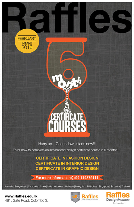 6 Month Certificate Courses (February Intake – 2016 ...