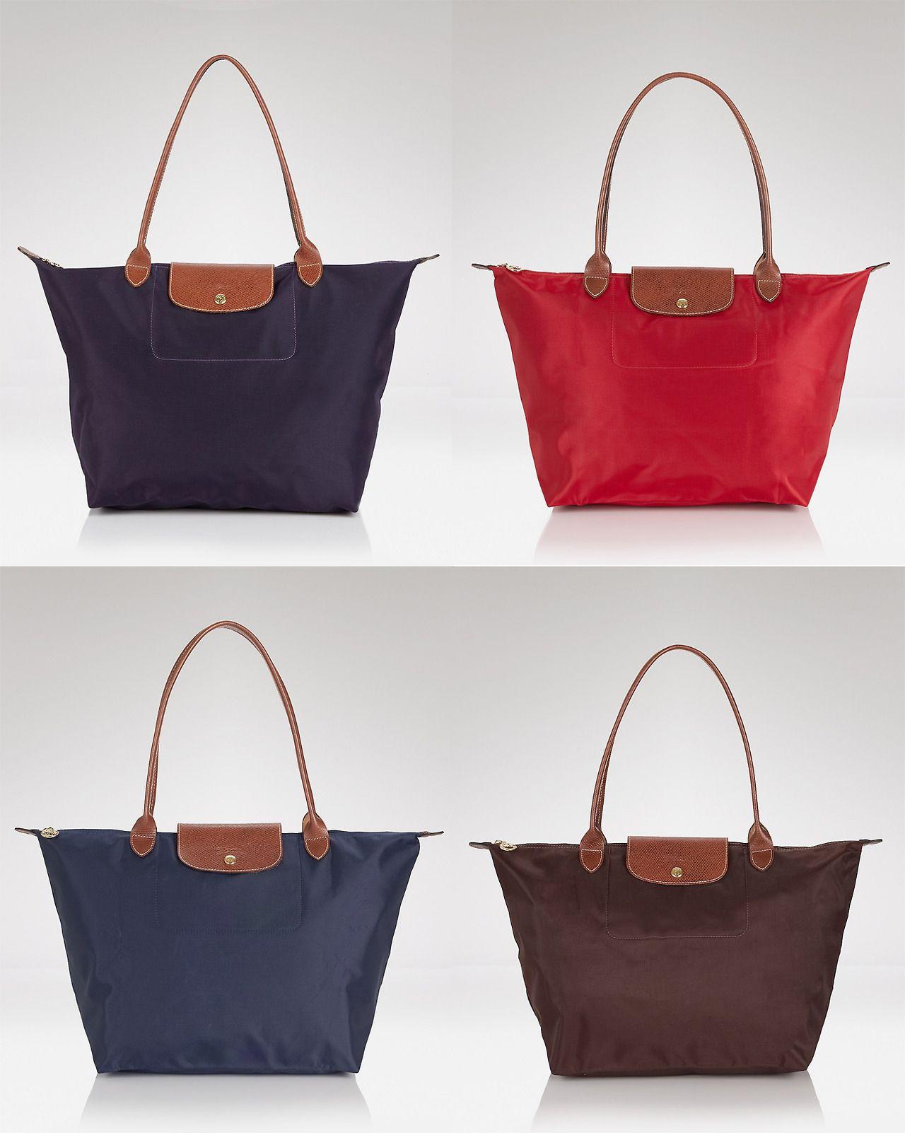 Longchamp Bag Le Pliage Australia : Longchamp le pliage large shoulder black or navy http