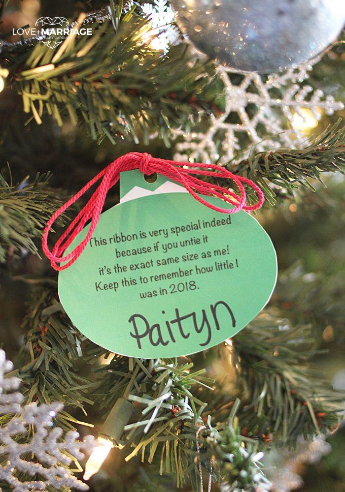 Sweet Memory Christmas Ornament Printable Sweet