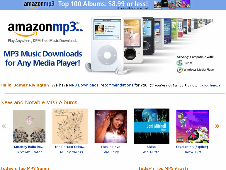 Amazon: DRM-free music 'what customers want' | Techradar com