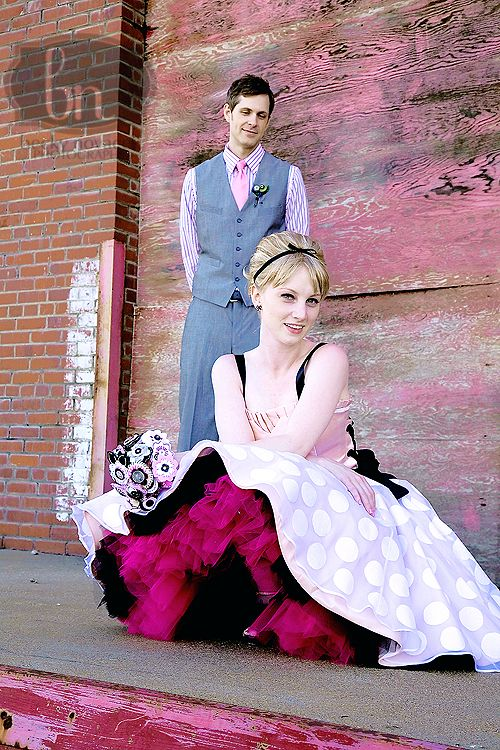 Adding A Colored Crinoline To Your Dress Will Add Splash Of Color Wedding