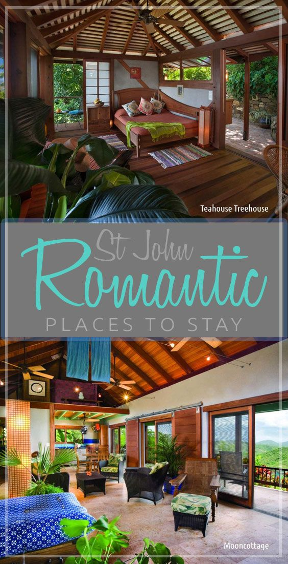 Romantic Places to Stay on St John