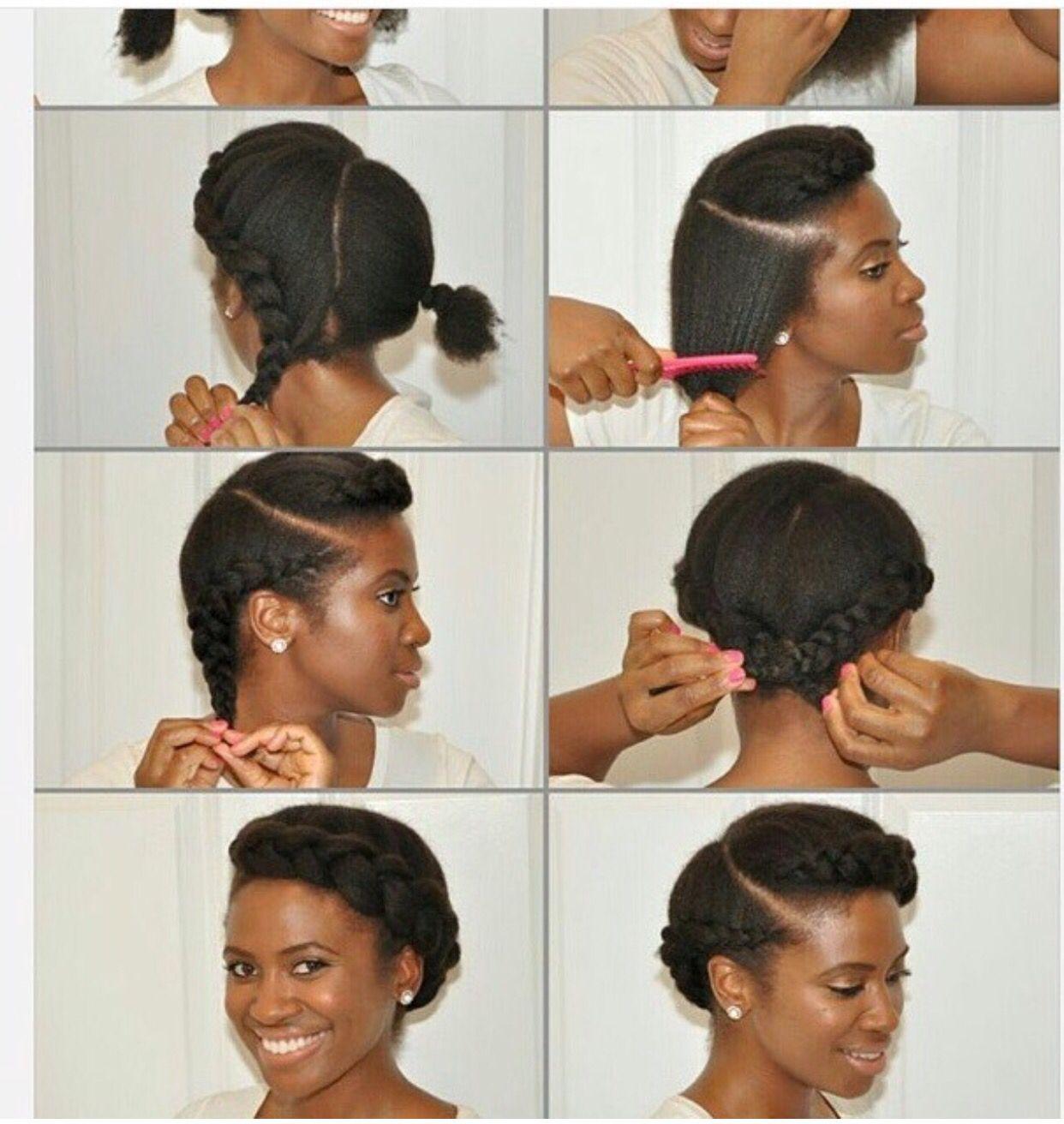 simple natural hair do   natural hair things   protective