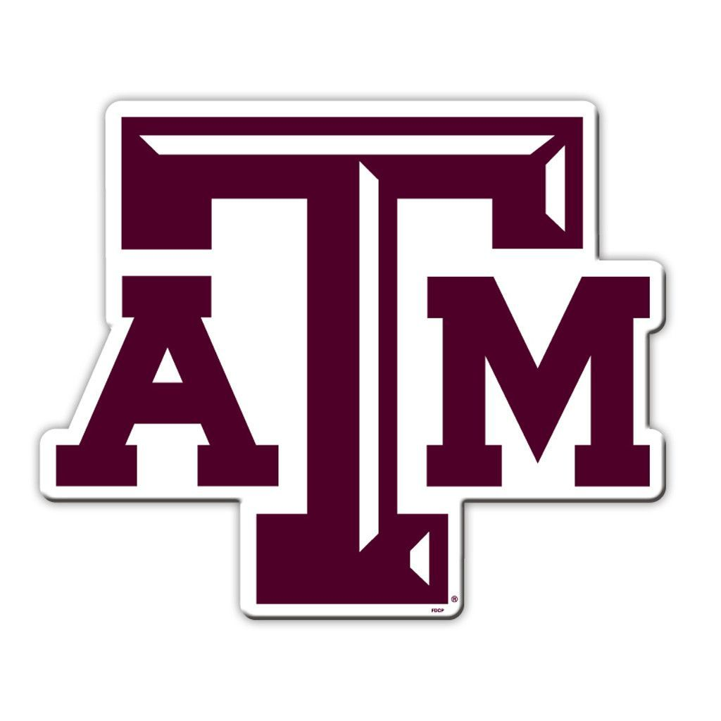 Texas AM Aggies Vinyl Magnet  Magnets And Texas