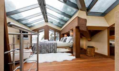 Déco chalet montagne : une centaine d\'idées pour la chambre à coucher