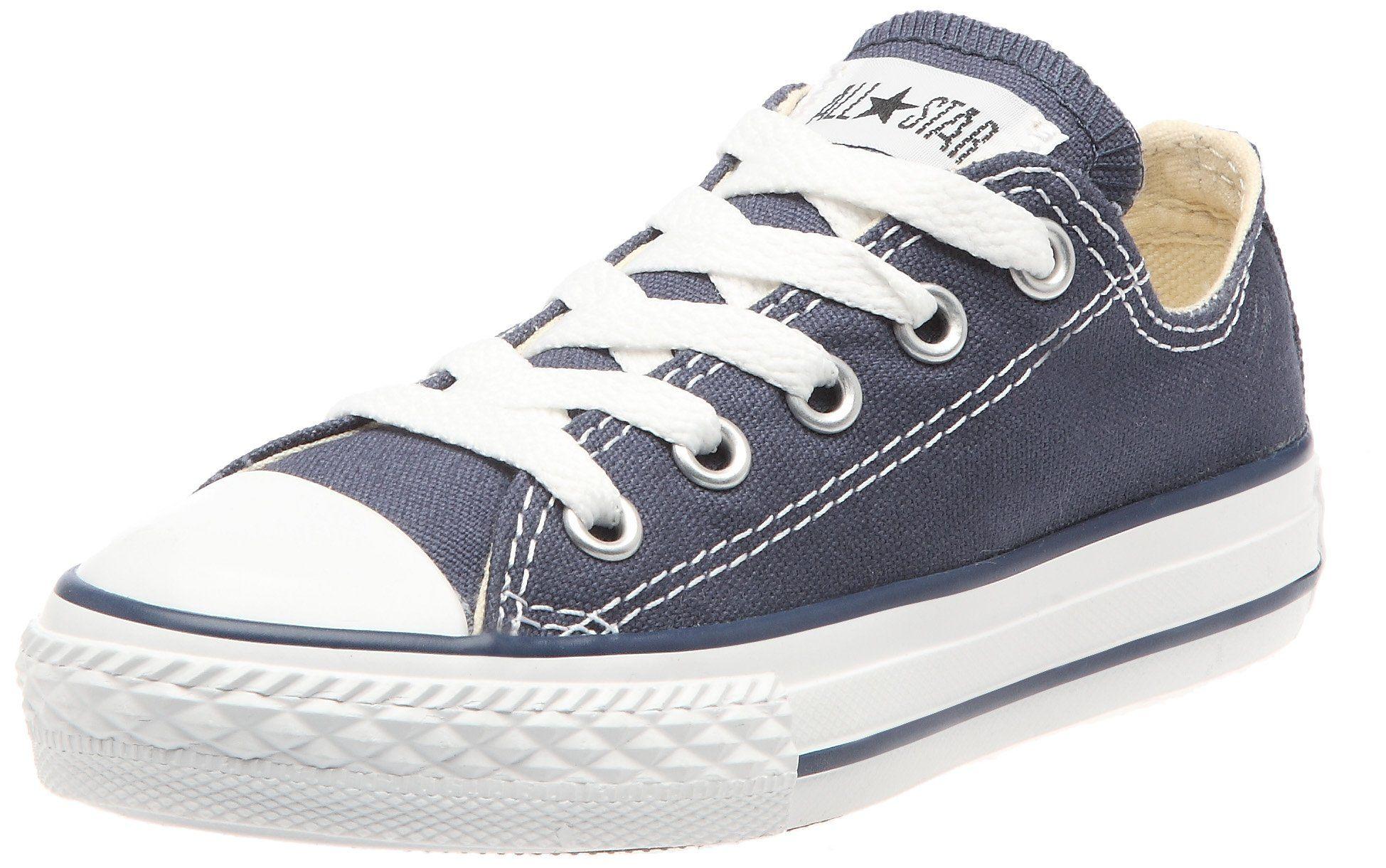 5485a9f39115b Amazon.com  Converse Girls  Chuck Taylor All Star Seasonal Low Cut Sneaker   Clothing SIZE 8