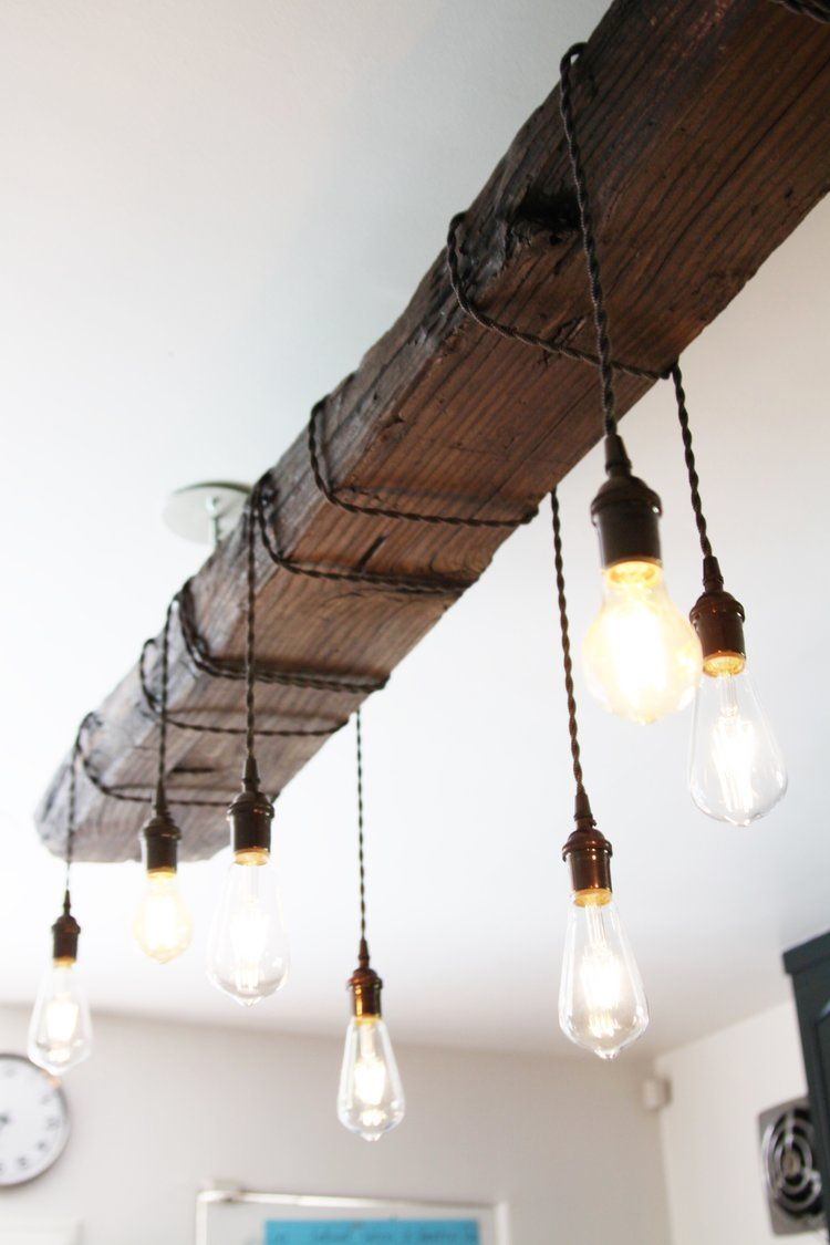 Our reclaimed wood chandelier chandeliers woods and jar lights our reclaimed wood chandelier arubaitofo Gallery